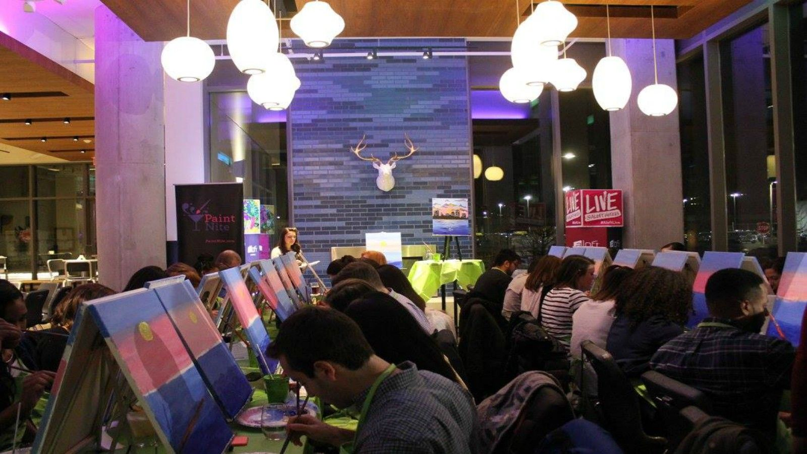 Boston Bars - Paint Nite